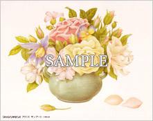 バラの花瓶